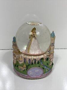 Disney Barbie As Rapunzel Musical Snow Globe