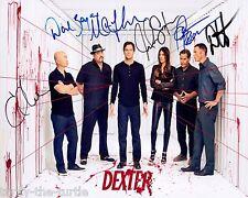 Dexter Cast #2  8 x 10 Autograph Reprint Michael C. Hall Jennifer Carpenter +4