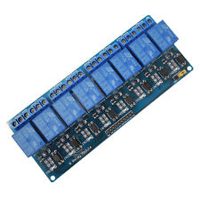 8 Channel 5V Relay Shield Module Board for Arduino UNO 2560 1280 ARM PIC AVR STM