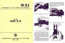 US Rifle Model M1 1965 - .30 Cal Field Manual