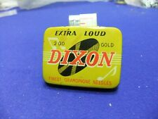 needle tin gramophone dixon gold extra loud 200 advert advertising record player