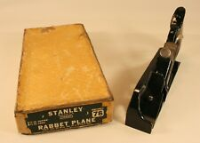 Stanley No. 78 Plane with Box and Pamphlet, IOB