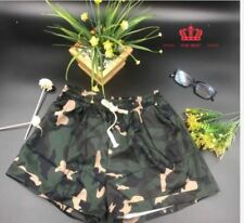 LADIES CAMOUFLAGE SHORT LH - ARMY GREEN