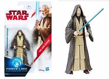 "STAR WARS The Last Jedi OBI-WAN KENOBI 3.75"" FIGURE Force Link Series #C3464 MOC"