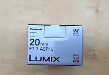 Panasonic Lumix 20mm f/1.7 AF Aspherical Lens