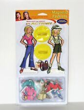 Htf Mary Kate & Ashley Olsen Magnetic Fashions paper doll type figures - Mip
