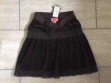 Juicy Couture Willy Wonka Chocolate Crochet Falda BNWT £ 125.00 UK8-10