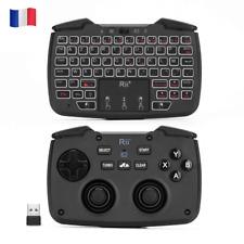 Rii RK707 : Contrôleur/Console de jeu, 2.4GHz sans fil, Côté clavier et souris