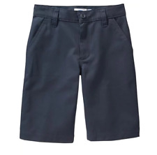 Old Navy Boys Size 12 14 Uniform Shorts Blue Adj. Waist (20% Discount on 3+)