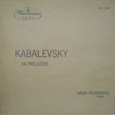 Reisenberg: Kabalevsky 24 Preludes for Piano - Westminster WN 18095, beautiful