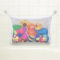 Kids Baby Bath Time Toy Tidy Storage Net Bag Mesh Bathroom Organiser Suction Cup