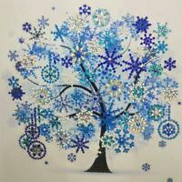 5D DIY Special Shaped Diamond Painting Tree Cross Stitch Embroidery Kit R1BO