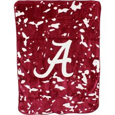 Alabama Crimson Tide College Covers 63 x 86 Soft Raschel Plush Throw Blanket