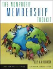 The Nonprofit Membership Toolkit: By Robinson, Ellis M.M.