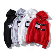 2018 Tommy Causal Kapuzenpullover Sport Hoodie Sweatshirt Hooded Outwear Coat