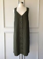 COUNTRY ROAD 2-in-1 CR CAPSULE boiled wool V dress navy SIZE 10