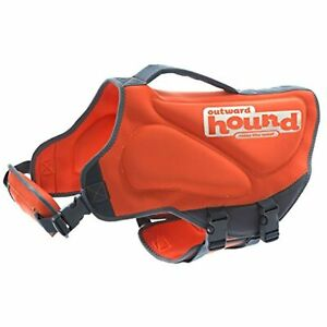 Outward Hound Neoprene Medium Dog Life Jacket Life Preserver for Dogs, Medium,