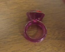 2005 DISNEY PRETTY PRINCESS CINDERELLA PINK RING REPLACEMENT PARTS FREE SHIPPING