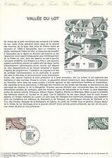 DOCUMENT PHILATÉLIQUE - YT 1807 - 1er JOUR 1974