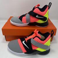 Nike Lebron Soldier XII SFG Playschool Boys Basketball Shoe AO2912 800 NIB SZ 1Y