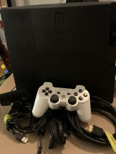 USED Sony PlayStation 3 Slim 320GB CECH-3001B With 21 Games and Move Camera