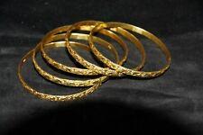 Indian Gold Bangles - Design 1