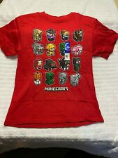 MINECRAFT SHIRT BOYS' MINI MOB ANIMAL AND CHARACTERS T-SHIRT SIZE XXL/18