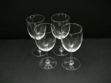 "Baccarat Perfection Tall Water Goblet Glasses  7 1/8"" /  Set of 4"