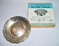 The HENNINGHAM ~ Vintage Silverplate BUTTER CURLER w/Original Box ~ England
