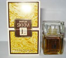 RARITÄT: Lancome SIKKIM Extrait Parfum 15 ml, Splash, NEU, mit OVP Духи Vintage