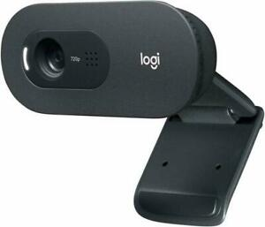 Logitech C270 HD Webcam 720p Black