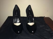 FENDI LEATHER SUEDE PUMPS SIZE 36 ITALY 6