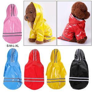 Dog's Raincoat Dog Winter Warm Coats Waterproof Pet Puppy Clothes Jacket S-XL