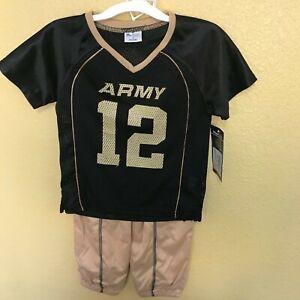 PROEDGE UCF ARMY TAN BLACK FOOTBALL JERSEY PANTS SET NEW