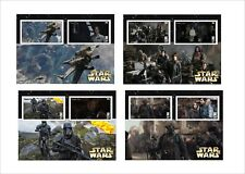 STAR WARS ROGUE ONE 8 SOUVENIR SHEETS MNH UNPERFORATED MOVIES