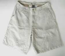 Van Heusen Men's size 32 Linen & Cotton Shorts  Flat Front Pockets
