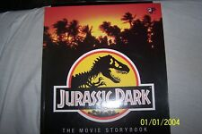 jurassic park the movie story book,1993, Universal studios product