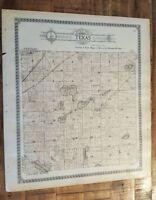 Antique MAP-TEXAS TOWNSHIP - KALAMAZOO, Michigan/Ogle & Co.1910