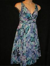 Chiffon Midi Floral Plus Size Dresses for Women