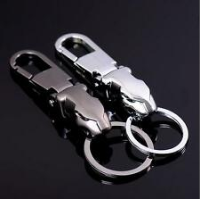 New Men's Alloy Metal Jaguar Key Ring Chain 3D Keychain Fashion Cute Lover Gift