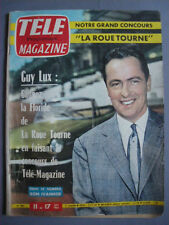 ► TELE MAGAZINE N°294  1961 - GUY LUX - ROGER PIERRE - JEAN MARC THIEBAULT