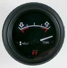 New Teleflex Red Mill International Trim Gauge Mercruiser Volvo Mercury Outboard
