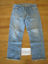 Vintage 501 transitional grunge jean tag is unclear Levi's meas 34x28.5 V3048