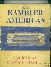 1962 Rambler American shop manual, original!