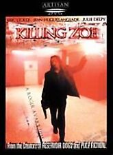 Killing Zoe (DVD, 2001, With Sensormatic Security Tag)