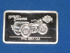 1932 Servi Car Harley Davidson Silver Art Bar B5748