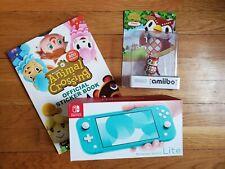 Nintendo Switch Lite Turquoise - Animal Crossing - Sticker Book & Amiibo Celeste