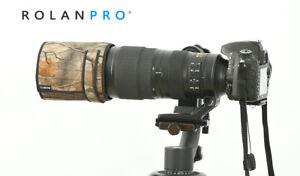 ROLANPRO Telephoto Lens Folding Hood for Nikon AF-S 200-500mm f/5.6E ED VR Camou