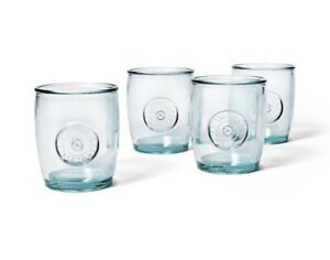 SHIPS NOW NEW Levi's x Target Set of 4 13.5 oz. Short Recycled Glass Tumblers