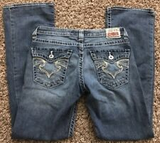 Big Star Remy Low Rise Boot Cut Jeans Size 29 R (O12)